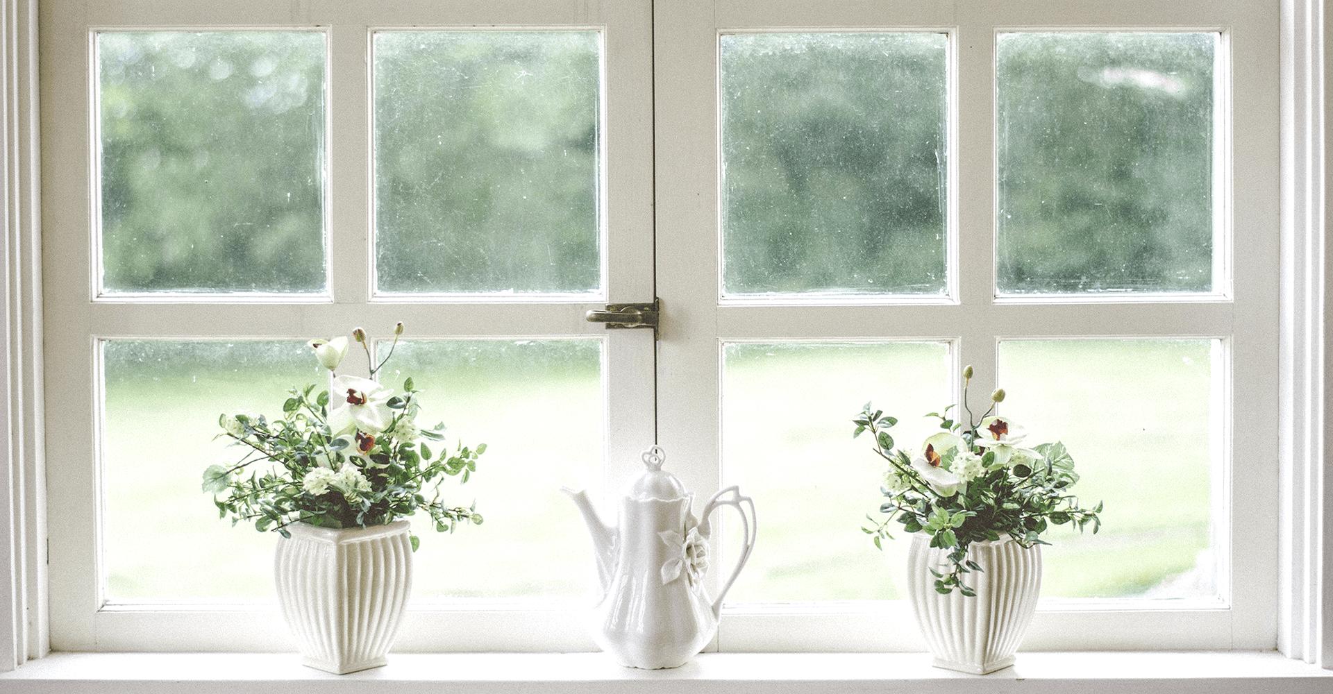natural lighting - clean windows